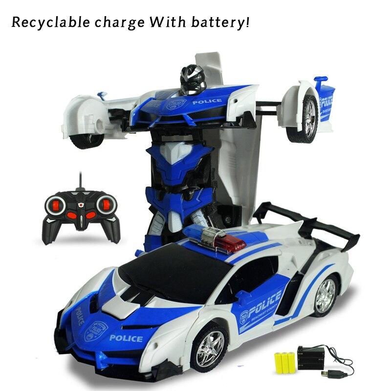 RC Car Models Transformation Robots Remote Control Deformation Car Robots ride on toys ride toys robots 1b