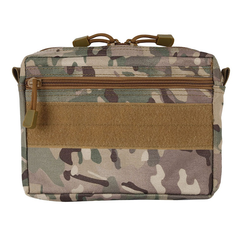 Waterproof 600D Waist Bag Pack Hiking Hunting Military Tactical Molle Pouch Outdoor Storage Bag