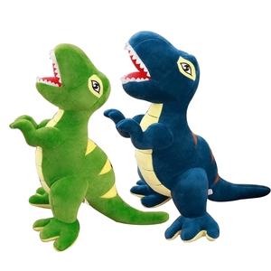 Image 5 - 60 センチメートル/90 センチメートル漫画の恐竜ぬいぐるみ趣味巨大なティラノサウルスレックスぬいぐるみ人形ぬいぐるみのおもちゃ子供男の子クラシックのおもちゃ