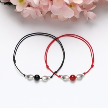 Anklet student Sen red rope temperament anklet female retro wind creative foot manufacturers