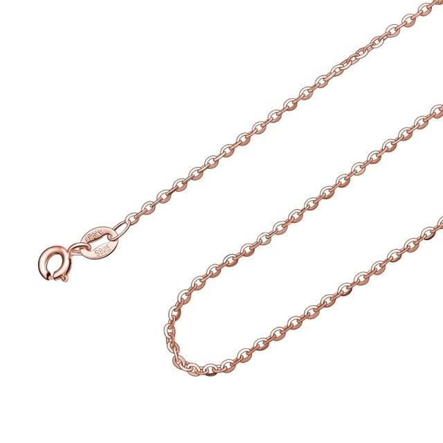 chaîne en argent Sterling 925 45 CM  idéal pour pendentif 6