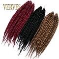 Classic color Crochet Hair Extensions Box Braids Hair 80g/piece Synthetic Crochet Braid Twist Hair 3x synthetic braiding hair