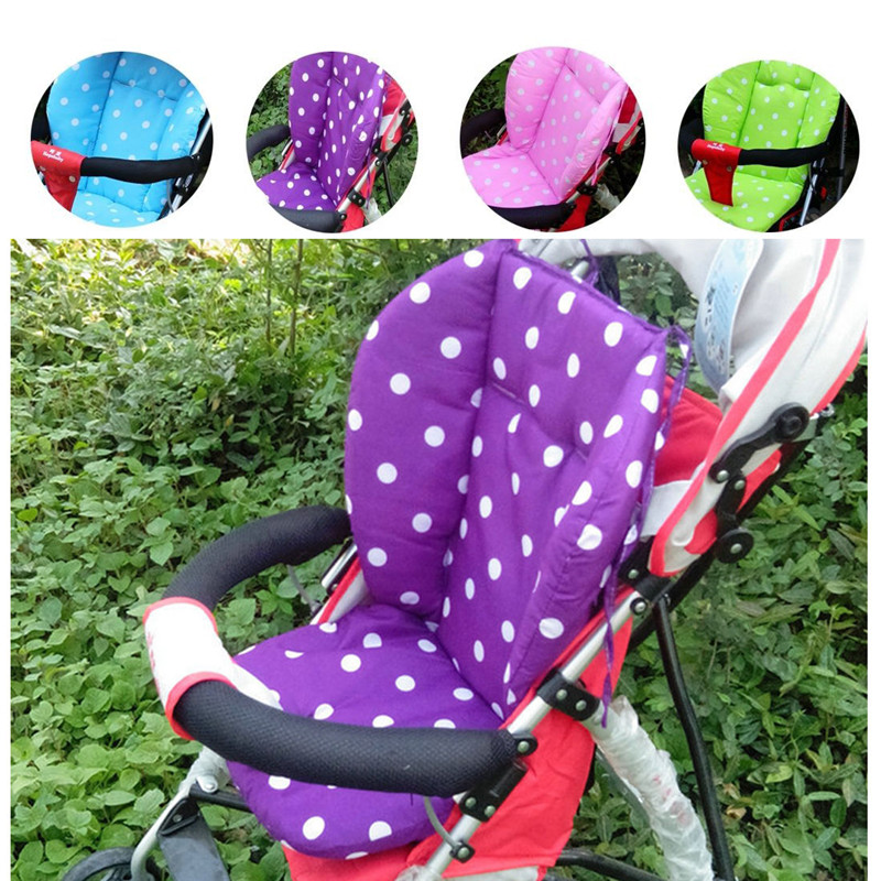 Candy Colors Soft Thick Baby Infant Stroller Car Seat