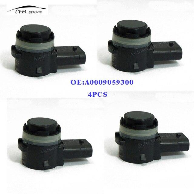 4 قطع A0009059300 جديد ماركة parking sensor pdc لسيارات مرسيدس