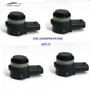 Image 1 - 4 piezas A0009059300 nuevo SENSOR de aparcamiento PDC para MERCEDES BENZ