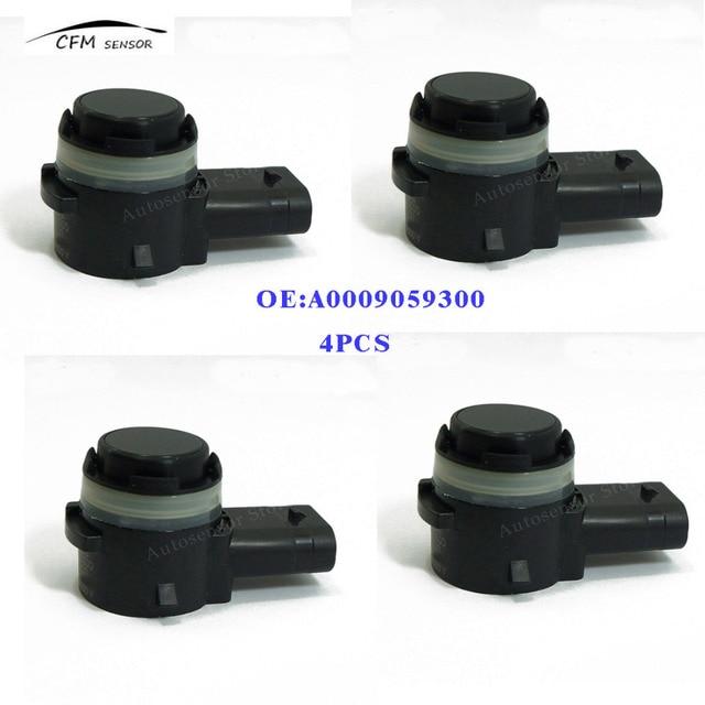 4 piezas A0009059300 nuevo SENSOR de aparcamiento PDC para MERCEDES BENZ
