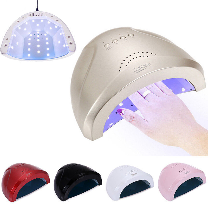 48W Nail Dryer LED UV Lamp For Nails Gel Polish Varnish Curing Drying Salon Nail Art Manicure Sun Light Lamp US/EU Plug Machine купить
