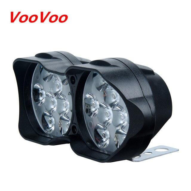 voovoo led moto lumi re moto phare lampe scooters phares anti brouillard spotlight lumi re de. Black Bedroom Furniture Sets. Home Design Ideas