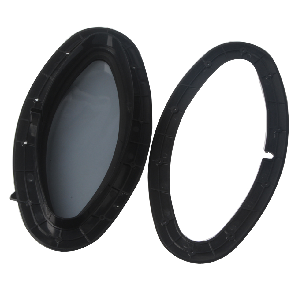 Car Window Round Oval Rectangle Shape Opening Portlight Boat Yacht RV Window Hatch Touring 265MM 410MM in Marine Hardware from Automobiles Motorcycles