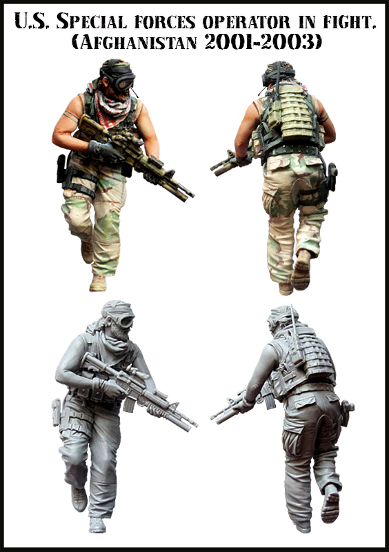 1:35 U.S. Special Forces Members 1