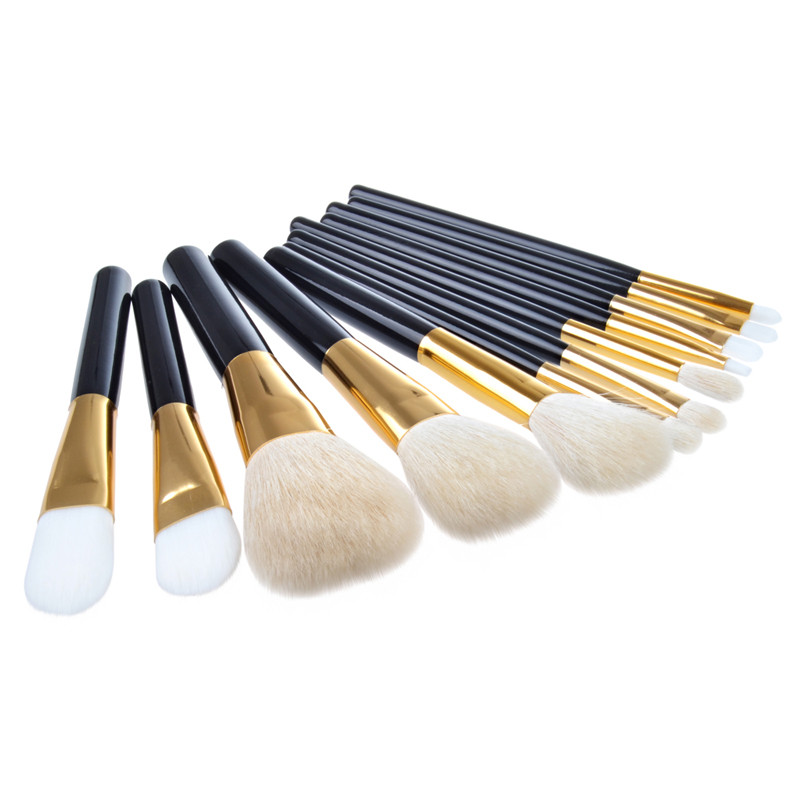12pcs set Professional Makeup Brushes Set Wood Superior Soft Cosmetic Eye shadow Foundation Concealer Make up