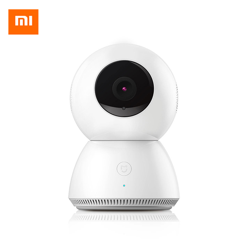 Prix pour D'origine xiaomi mijia smart caméra webcam ip caméra caméscope 360 angle panoramique wifi sans fil 1080 p magie zoom 4