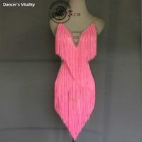 Luxury latin dance dress for women tassel tassel latin dance dress girls latin dance dress latin dance clothes 120 180cm