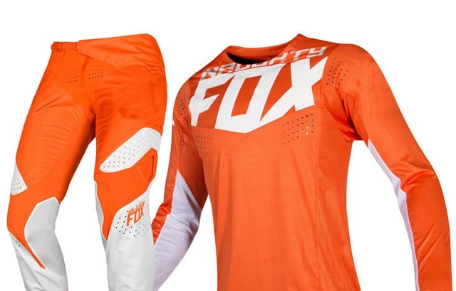 2019 Naughty Fox MX 360 Кила оранжевая Майка брюки Мотокросс Байк Off Road гонки для взрослых Шестерни комплект