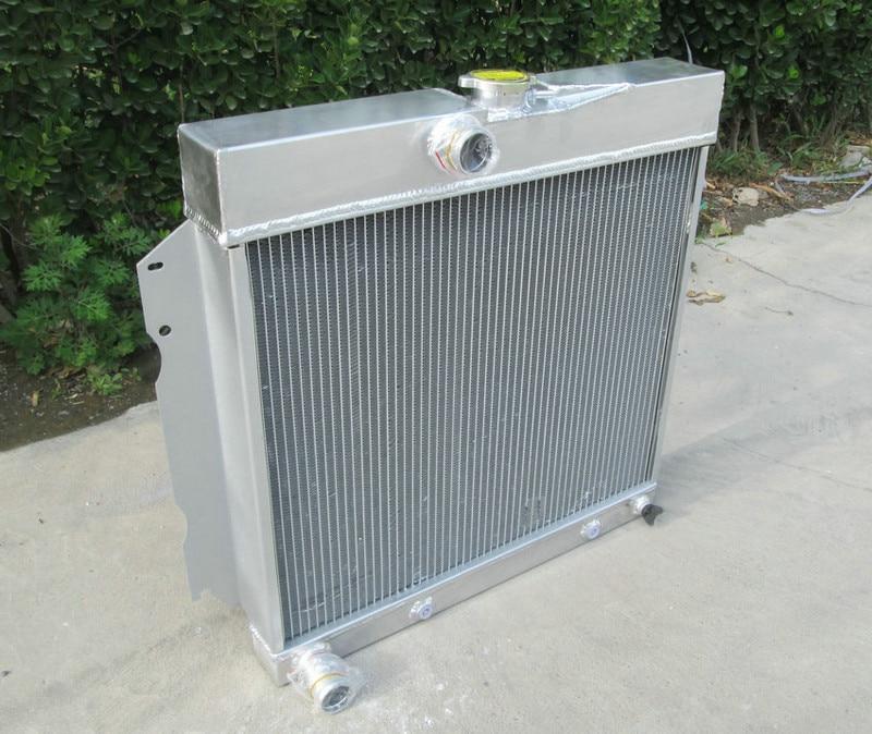 4 Row Aluminum Radiator For Dodge Charger//Coronet V8 Engines 1968-1972 69 70 71