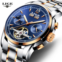 Luxury Brand Men Watches Mens Casual Automatic Mechanical Date Clock Male Waterproof Sports Watch Man Dress Wrist Watch Relojes luxury brand curren watch big face mens watches leather strap man quartz watch casual sports male clocks fashion dress relojes