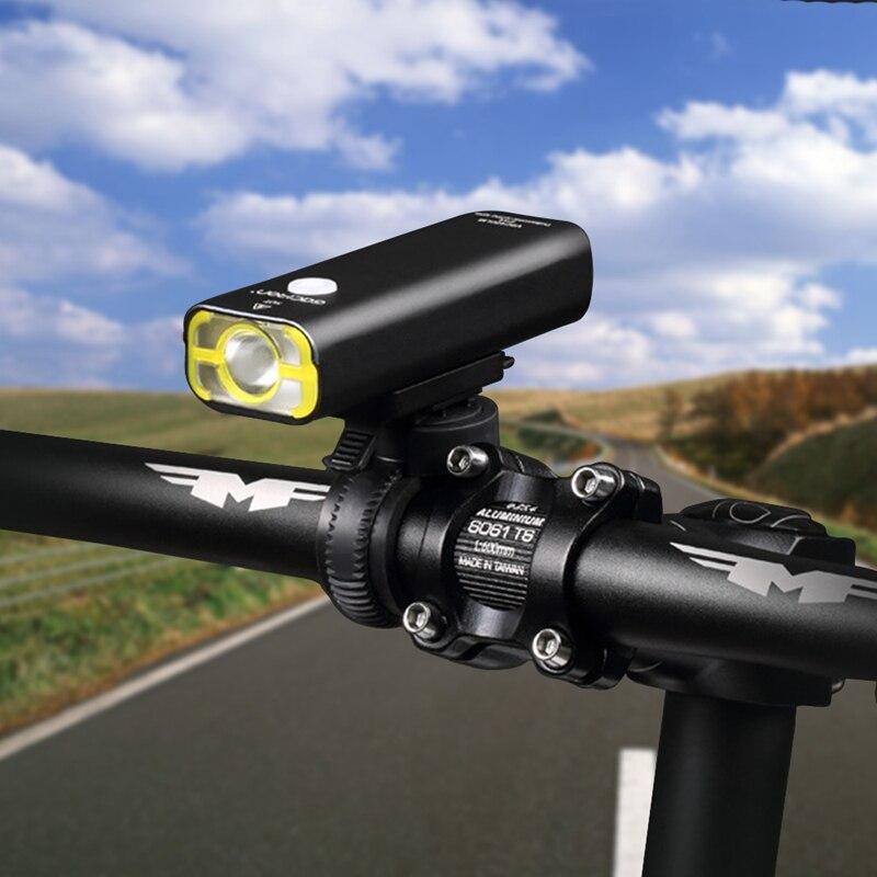 Bicycle Light Front Usb Rechargeable Handlebar Cycling <font><b>Led</b></font> Light Battery Flashlight Torch Headlight <font><b>Bike</b></font> Accessories For Gift H3