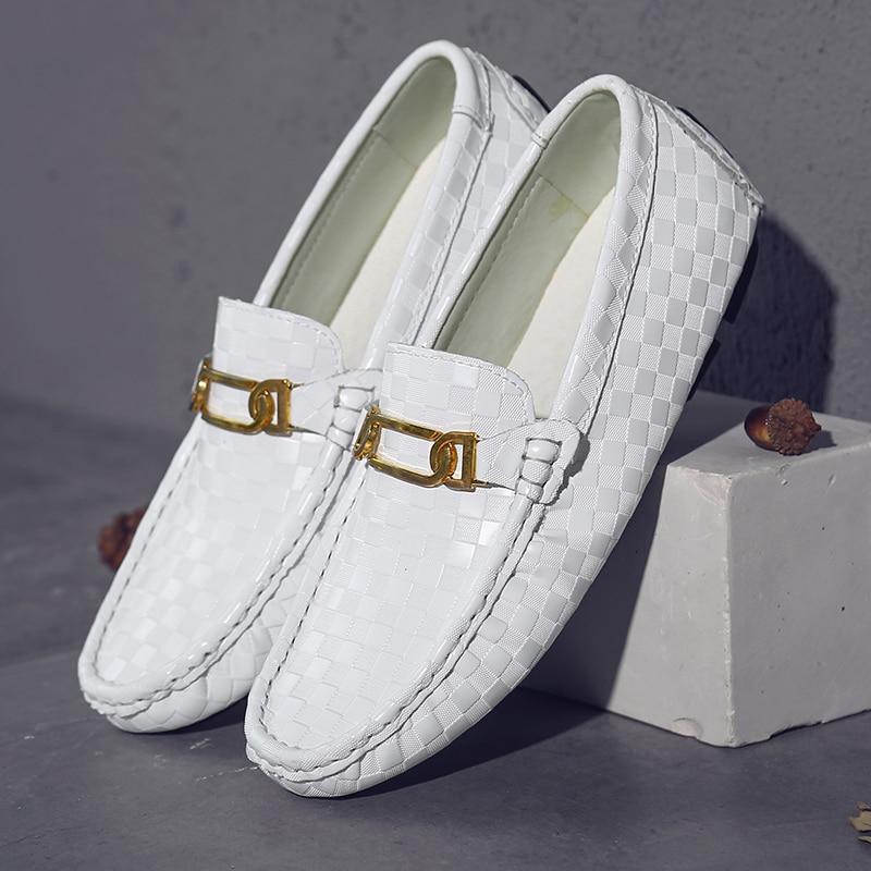 2018 جديد رجالي عادية أحذية سبليت جلدية - احذية رجالية