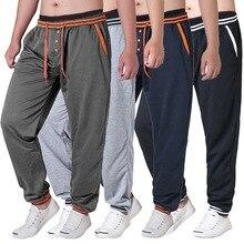 CALOFE, Мужские штаны для бега, для бега, фитнеса, тренировки, бега, на шнурке, мягкие, полная длина, штаны для футбола, тренировочные штаны, мужские с карманом