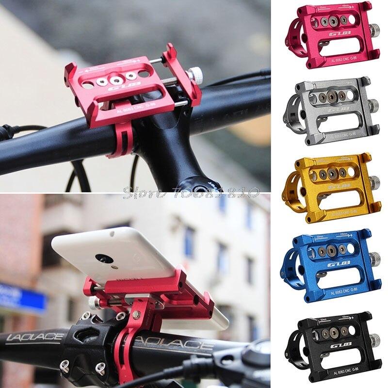 imágenes para De metal De Bicicletas Motocicleta de la Bicicleta Mango Teléfono Monte Para el iphone Teléfono Móvil GPS # R179T # envío de La Gota