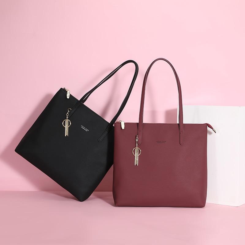 Image 2 - WEICHEN Large Capacity Women Handbag Ladies Top Handle Totes  Shoulder Bag Female Casual Tote Shopping Sac Big Travelling  BagTop-Handle Bags