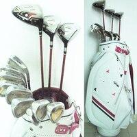 Новые cooyute женские клюшки для гольфа HONMA S 03 Compelete Набор клубов Для Гольфа Драйвер + 3/5 дерево + утюги + сумка графитовая клюшка для гольфа Беспл