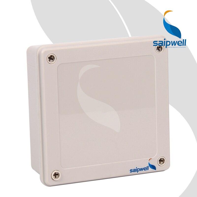 160 160 60mm IP67 ABS Junction Box Plastic Screw Type Waterproof Enclosure SP 02 161660