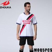 Benutzerdefinierte team trikots fußball machen kundenspezifische jerseys online fußball jersey design