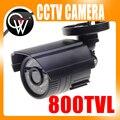 4mm Cámara de Seguridad 800TVL Ir-cut Filtro 24 IR Día/Visión Nocturna Impermeable Al Aire Libre de Vigilancia de Vídeo CCTV cámara