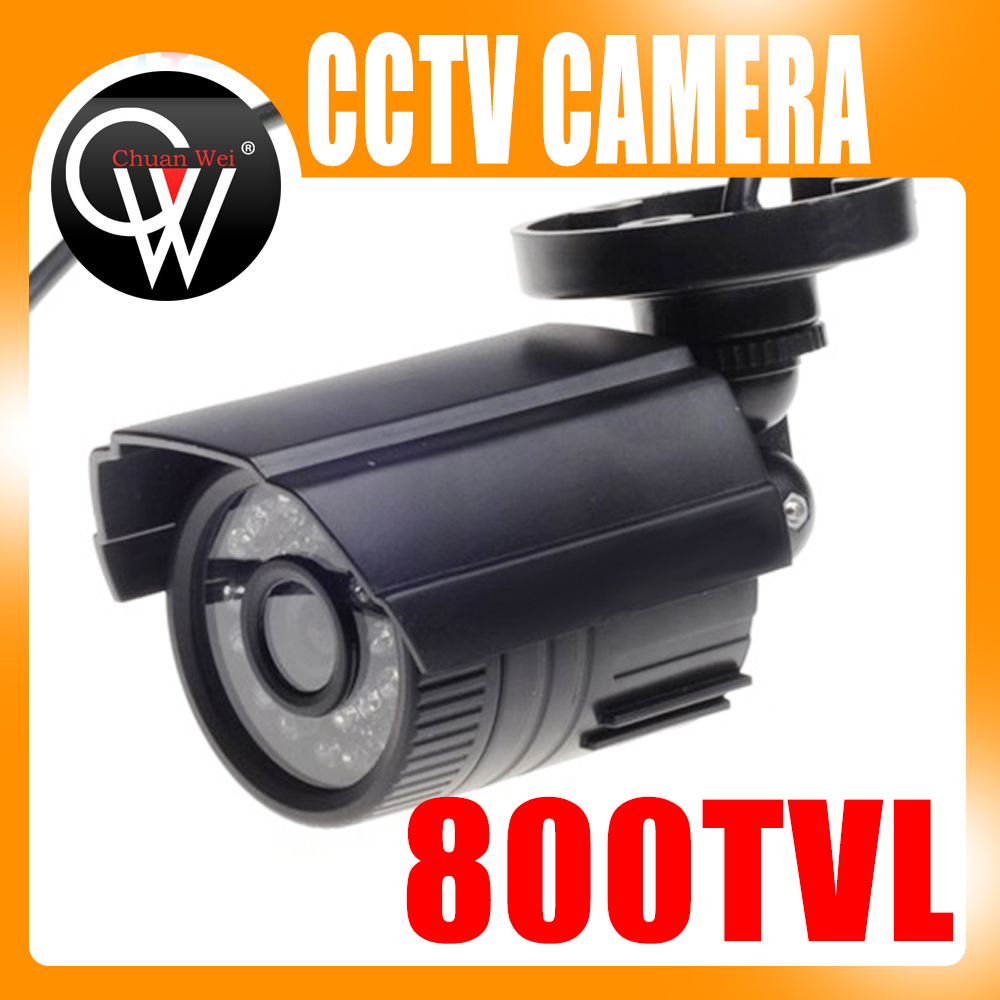 4mm Security Camera 800TVL IR-Cut Filter 24 IR Day/Night Vision Video Outdoor Waterproof Surveillance CCTV Camera