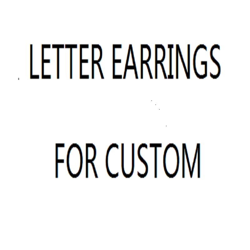 Pearl letter earrings S925 silver needle allergy fashion jewelry accessories wholesale G1 3 C1 in Drop Earrings from Jewelry Accessories