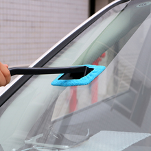 Hot Microfiber Cloth Long Handle Car Wash Brushes Car Body Window Glass Wiper Cleaning Tools Kit Automobile Windshield Cleaner