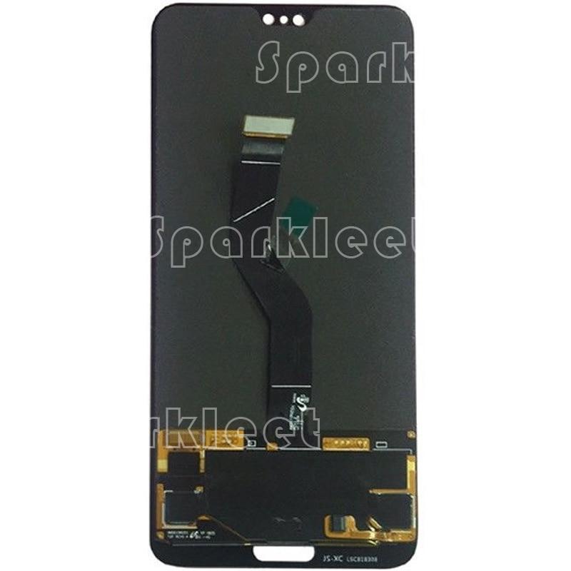 6,0 'ЖК дисплей Экран дисплея для Huawei P20 Pro CLT L04 L09 L29 с Сенсорный экран планшета Ассамблеи нет отпечатков пальцев для P20 Pro