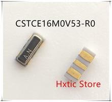 100pcs/lot CSTCE16M0V53 CSTCE16M0V53-R0 Ceramic Resonators SMD 16MHZ CSTCE16M