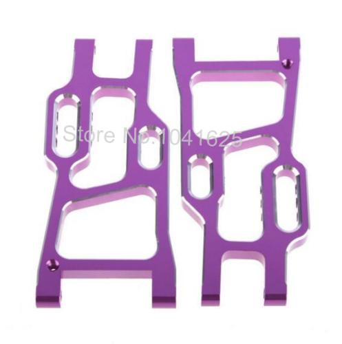 HSP Upgrade Parts 106021 Aluminum Rear Lower Arms for 1/10 RC model Car Off Road  94105 94106 94107 94107Pro hsp 02106 upgrade parts for 1 10 rc car