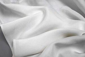 Image 5 - Mulher 100% de seda espaguete cinta camisola tanque top colete sleepwear tamanho m l jn003