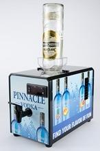 SICAO 0.9L 4.5kg Mini Cold Liquor Dispenser with Tap Supply Liquor Refrigerater Wine Dispenser Machine without logo black color