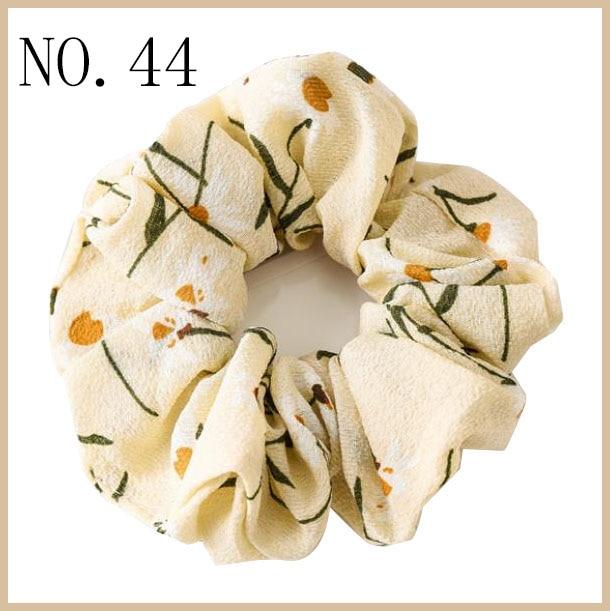free shipping 300pcs Women Elegant Velvet Solid Elastic Hair Bands Ponytail Holder hair Scrunchies Tie Hair