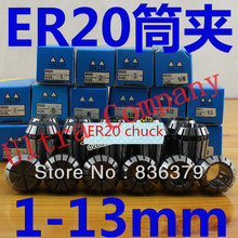 1pc 3-13mm ER20 collet chuck holder ER20  er20  collet holder Spring Collet