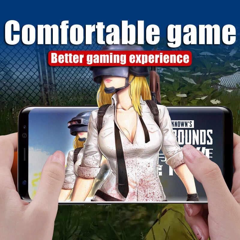 4 cái/lốc 3D Full Bao Da THÚ CƯNG Mềm Cho Samsung Galaxy S10 S9 S8 Plus Note 9 8 S7 S6 edge Tấm Bảo Vệ Màn Hình Không Kính Cường Lực