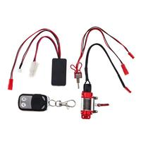RC Steel Wired Crawler Winch Control System Wireless Remote Receiver 3pcs Set Romate Controller Car Parts