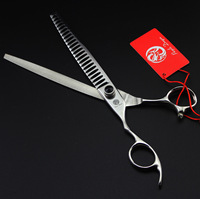 8.0 inch 24 teeth Left Handed Hair Thinning Scissors Shears made 440C