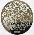 1PC Fashion Flower 24 Design Plate PV 1-24 Series Nail Art Image Konad Print Stamp Stamping Manicure Template