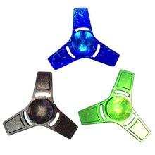 2017รูปแบบใหม่สีอยู่ไม่สุขปินเนอร์EDC Tri-s Pinnerมือปั่นความน่าสนใจป้องกันความดันของเล่นเด็กของขวัญ