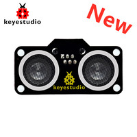 Newest! Keyestudio RJ11 Easy Plug SR01 Ultrasonic Sensor Module Ультразвуковой дальноме V2.0( N76E003AT20) for Arduino Robot Car