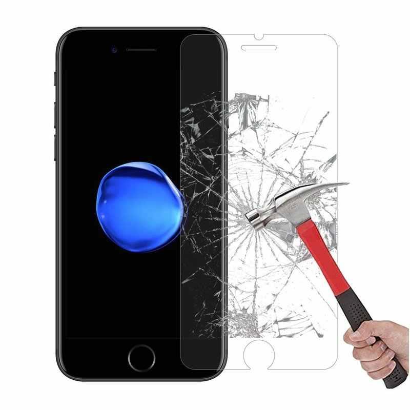 Закаленное Стекло телефон Экран протектор для Iphon IPONE iPhone X 4S 5 5S 5C 5 г SE 6 S 6 S 7 8 плюс я телефон iphonx мобильный чехол
