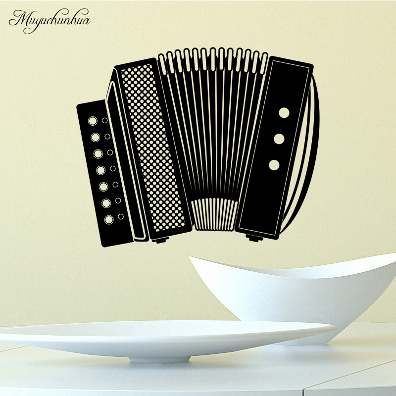 Muyuchunhua Classic Accordion Pattern Wall Stickers for Kids Room Bedroom Self Adhesive Vinyl Waterproof Background Wall Decal