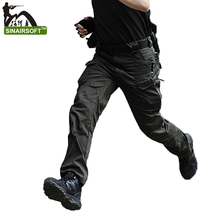 Camouflage tactical pants military hunting clothing paintball army cargo men pants combat trousers multicam tactical pants