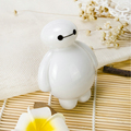 Cartoon Baymax baby room nightlight children's  Changing Creative night led light 110V 220V US EU led energy saving lamp