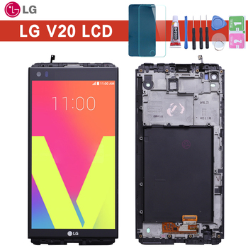 Warranty 5.7'' 2560x1440 IPS LCD For LG V20 LCD Display Touch screen VS995 VS996 LS997 H910 Digitizer Replacement factory quality ips lcd display 7 85 for supra m847g internal lcd screen monitor panel 1024x768 replacement
